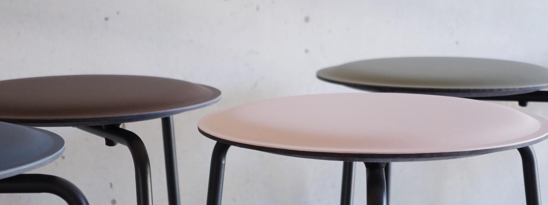 Ravioli Linoleum Hocker S, Sitzsysteme