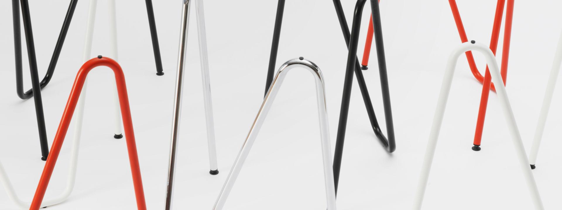 Sinus Tischbock (2 Stück), Tische & Gestelle, Tischgestelle, Tischgestell, Tischbeine