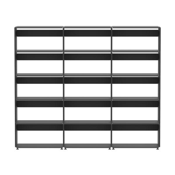 Plusminus Regal 5 x 3, Regalsystem, Aufbewahrung, Regal, Büroregal, Linoleum