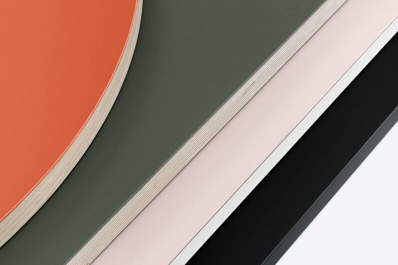 FLCustom Tischplatten & Tische, Tische, Linoleumplatte, Linoleum, Linoleum Tischplatten auf Maß, Tip Top Tabletop, 3D, Freiformtischplatte, Freiform Tischplatte