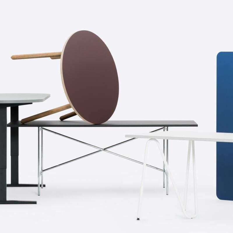 Linoleum Tabletop & Table, Tables, Linoleum Table Top, Linoleum, Custom linoleum table tops, Tip Top Tabletop, 3D, Free form table top, free form