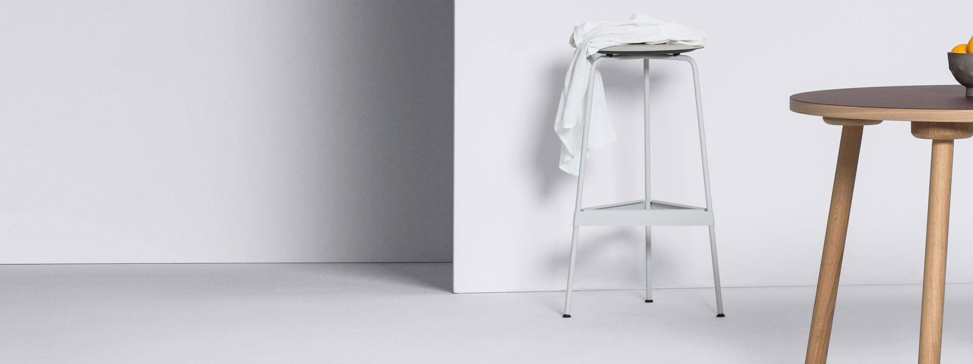 Ravioli Linoleum Barstool M, Chairs & Stools