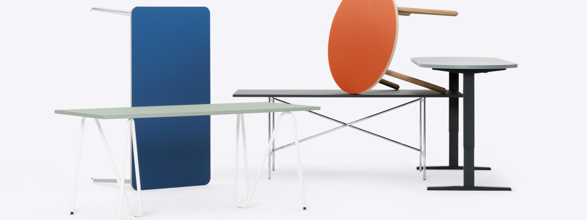 Startseite, Tischplatten, Tische, Tischgestelle, Regalsystem, Stühle & Hocker, Büro & Zuhause, Zubehör