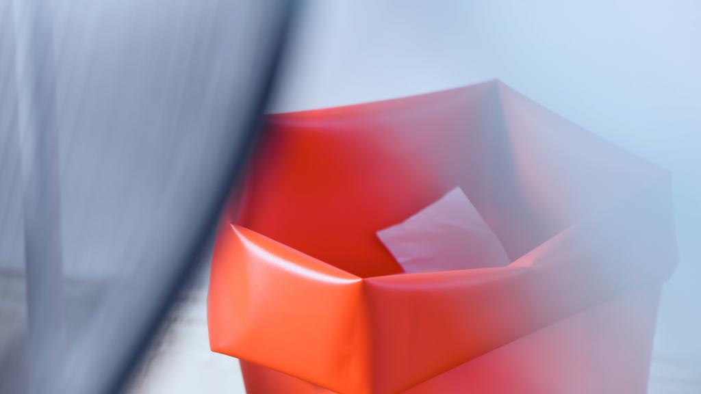 Roll-Up Behälter L (60L), Büro & Zuhause
